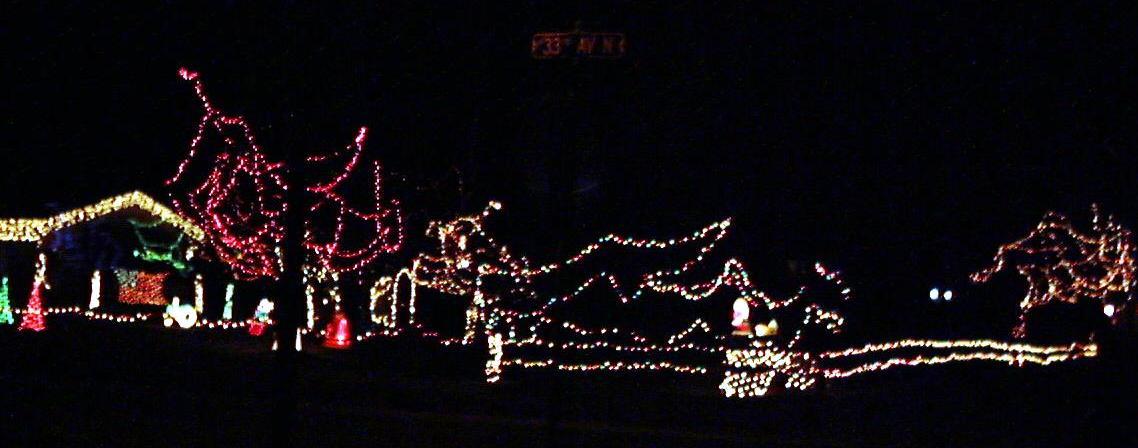 Plymouth Lights: 2002 Display